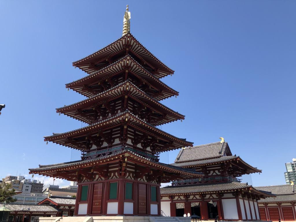 仏教の礎 大阪市にある四天王寺