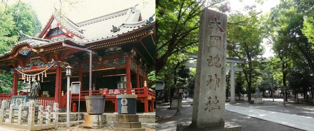 高尾山薬王院と大國魂神社