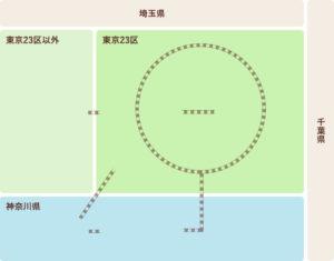 首都圏エリア仏壇店マップ
