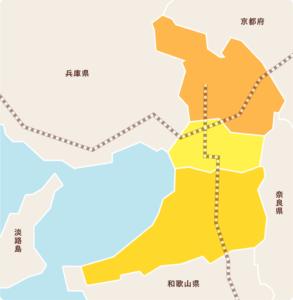 大阪エリア仏壇店マップ